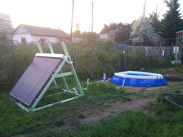 Солнечные коллекторы для бассейнов своими руками