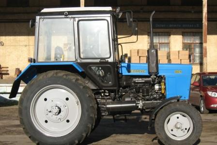 Измельчитель веток ИВЕТА навесной к трактору МТЗ 82.1.
