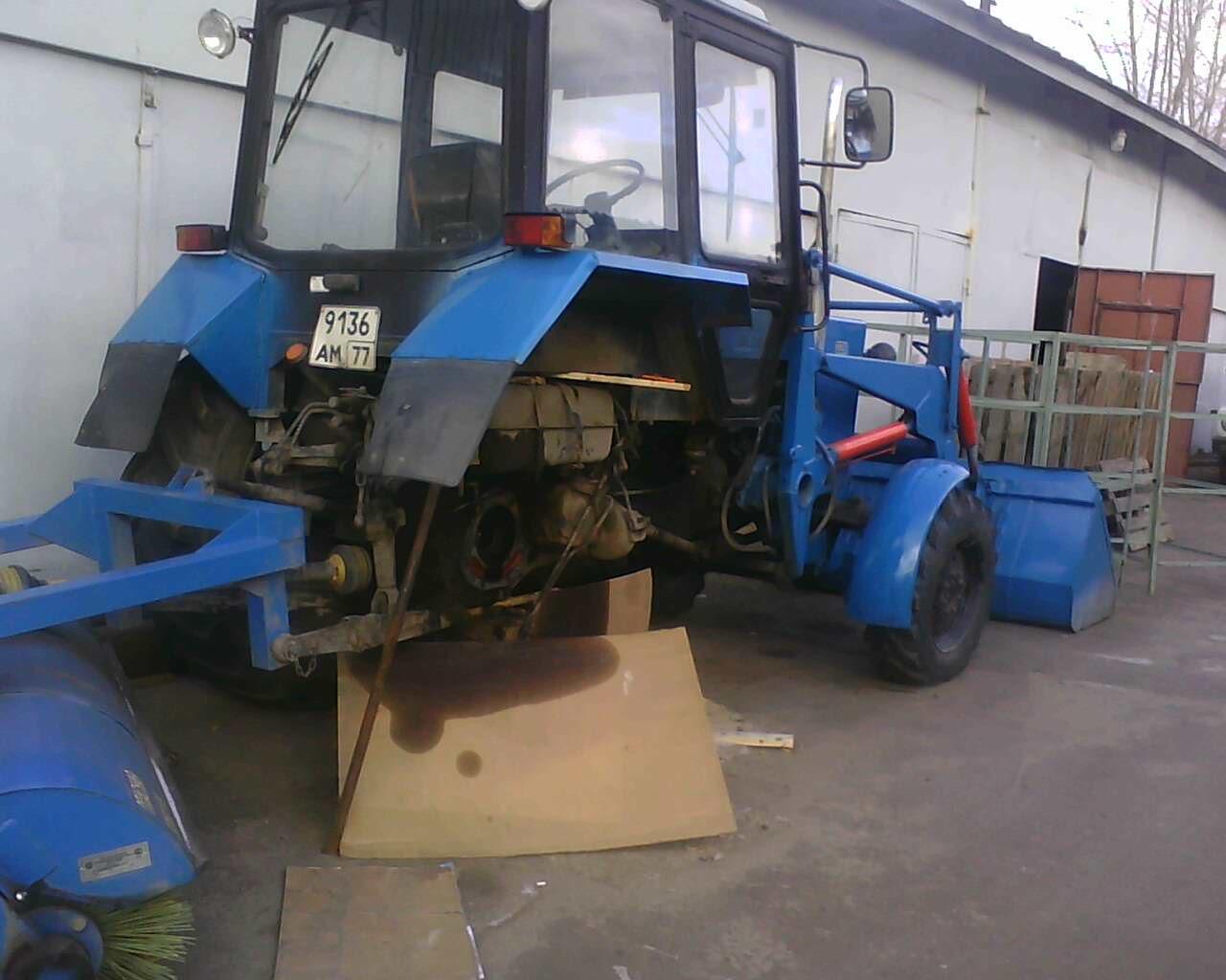 Коммунальная техника: Минский тракторный завод